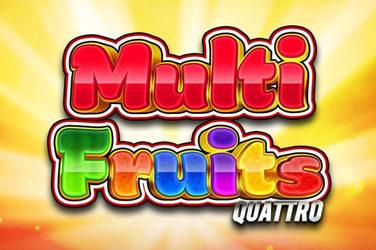 Multi fruits quattro